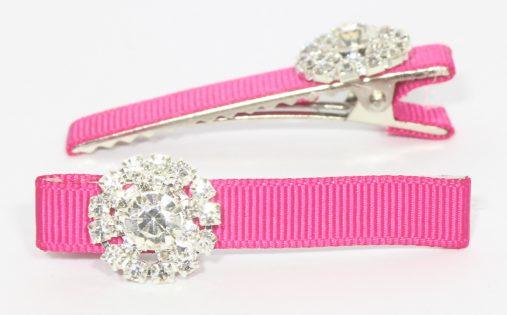Daisy Clips – Dusky Pink