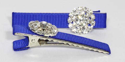 Daisy Clips – Royal Blue